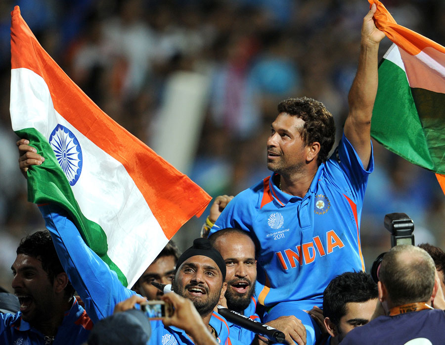 Sachin carried by Team India