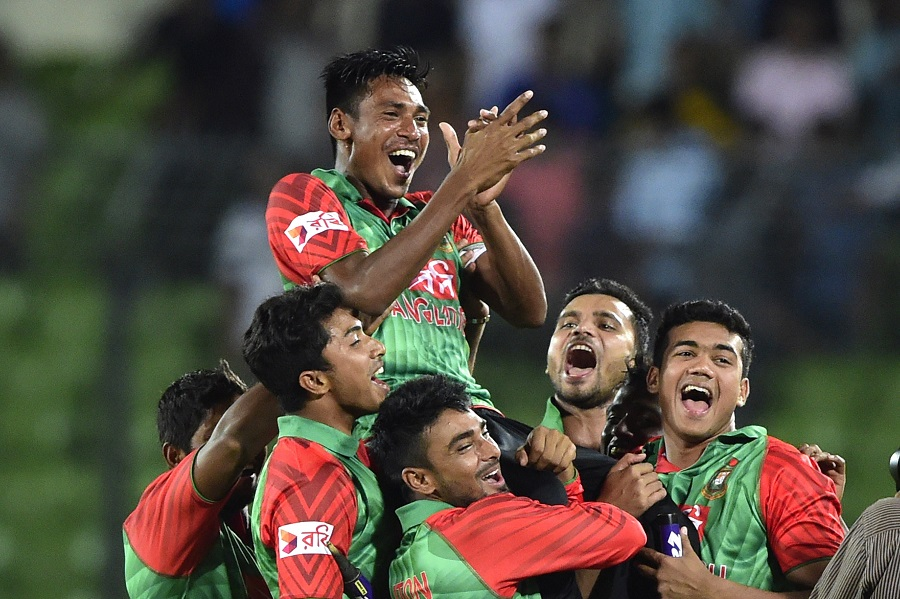 'Bangladesh don't have the habit of chasing 300-plus scores'