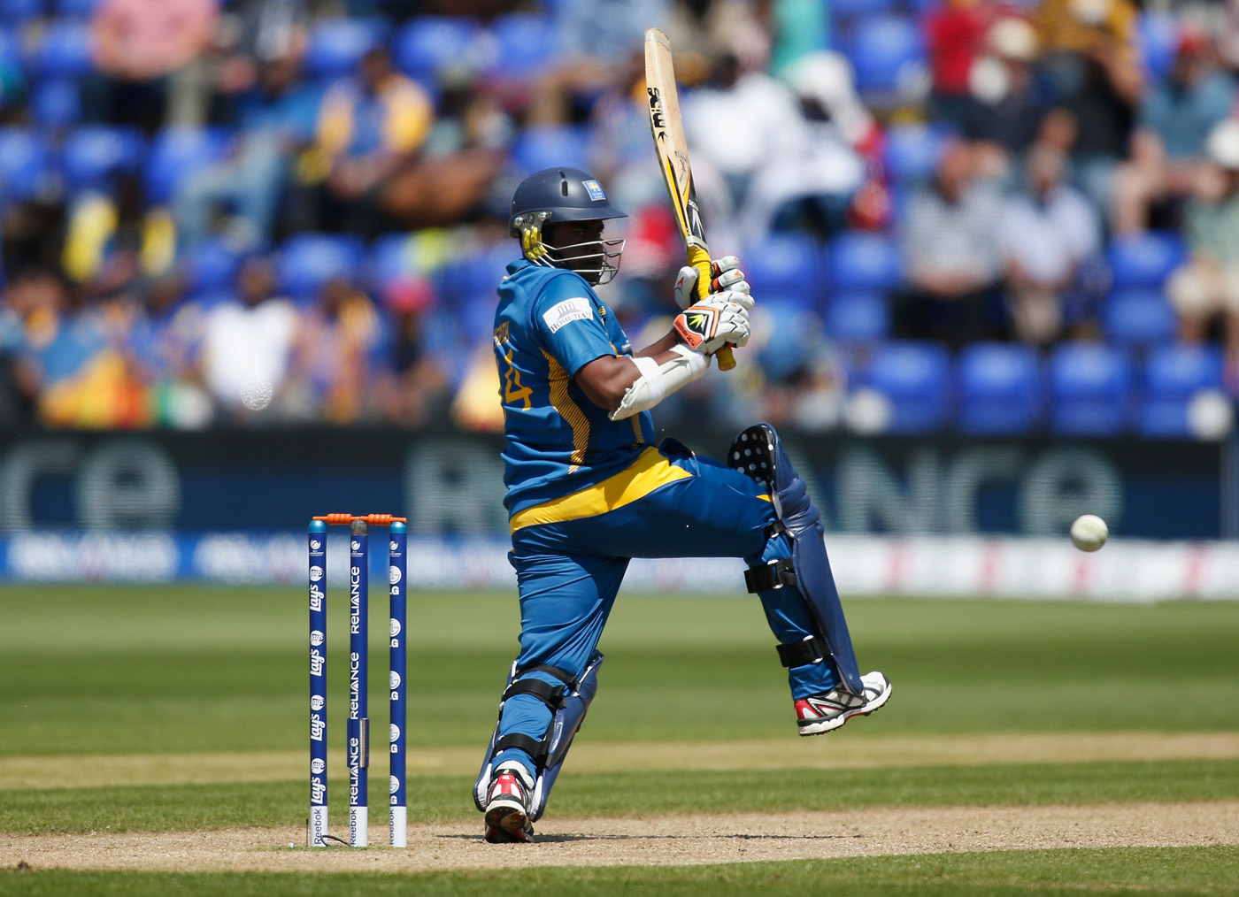 Willow-wielder, weed-whacker: Herath is an energetic contributor when it comes to run-scoring