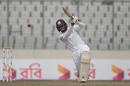 Dhananjya de Silva lifts one over extra cover, Bangladesh v Sri Lanka, 2nd Test, Mirpur, 2nd day, February 9, 2018