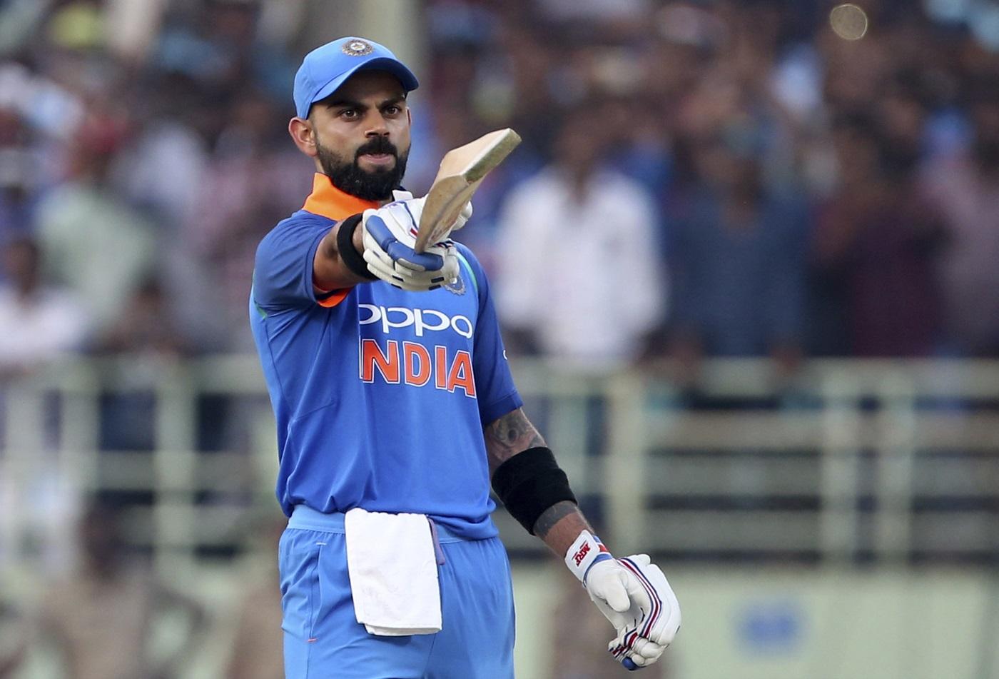 India's Virat Kohli becomes the fastest batsman to reach 10,000 ODI runs