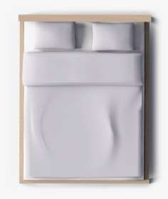 transparent bed top view png leather