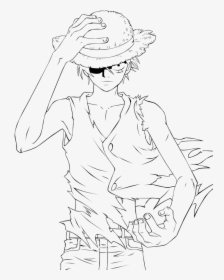 Nadine suciu shop on displate. Luffy By Minatosama One Piece Pinterest One Piece Coloring Luffy Hd Png Download Kindpng