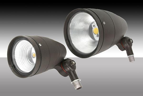 maxlite expands outdoor lighting with led adjustable wall packs and bullet flood lights ledinside