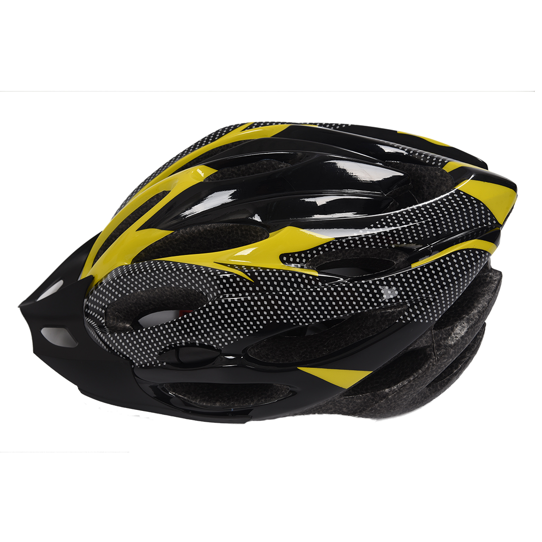 Bicycle Cycling Safety Helmet With Removable Carbon Fiber
