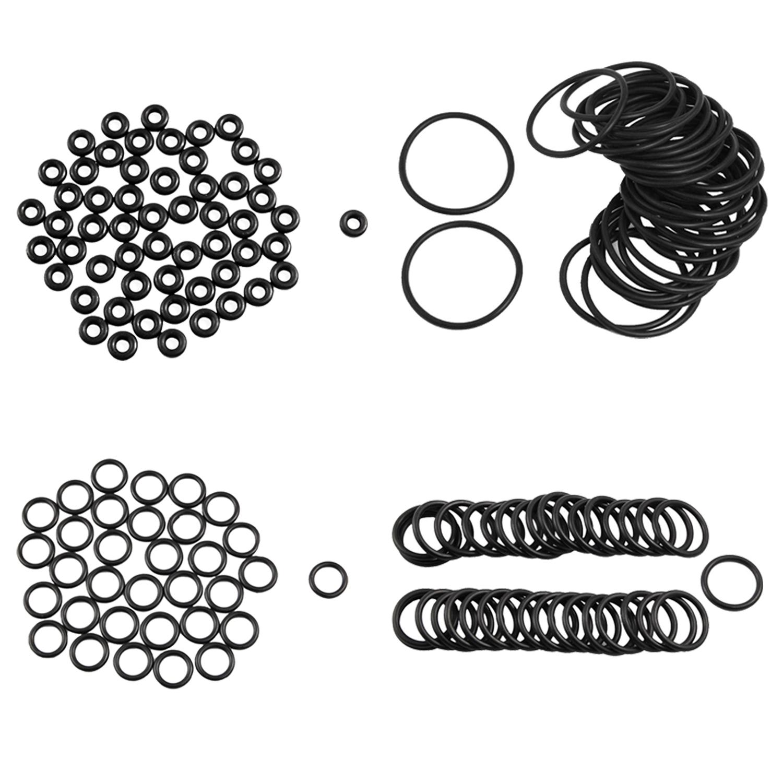 50 X Schwarz 15 Mm X 2 5 Mm Nitrilkautschuk O Ring Oil