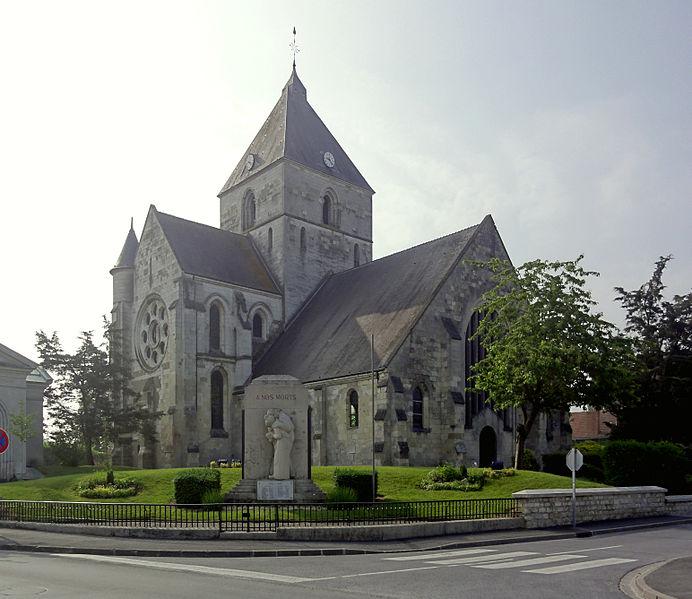 Eglise Guignicourt GR12 section 1