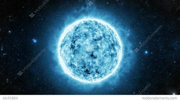 White Dwarf Star Stock Animation 6645884