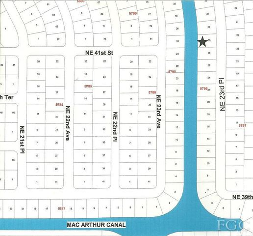 Cape Coral Assessments Map