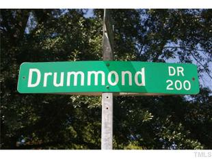 206 Drummond Drive, Raleigh, NC.
