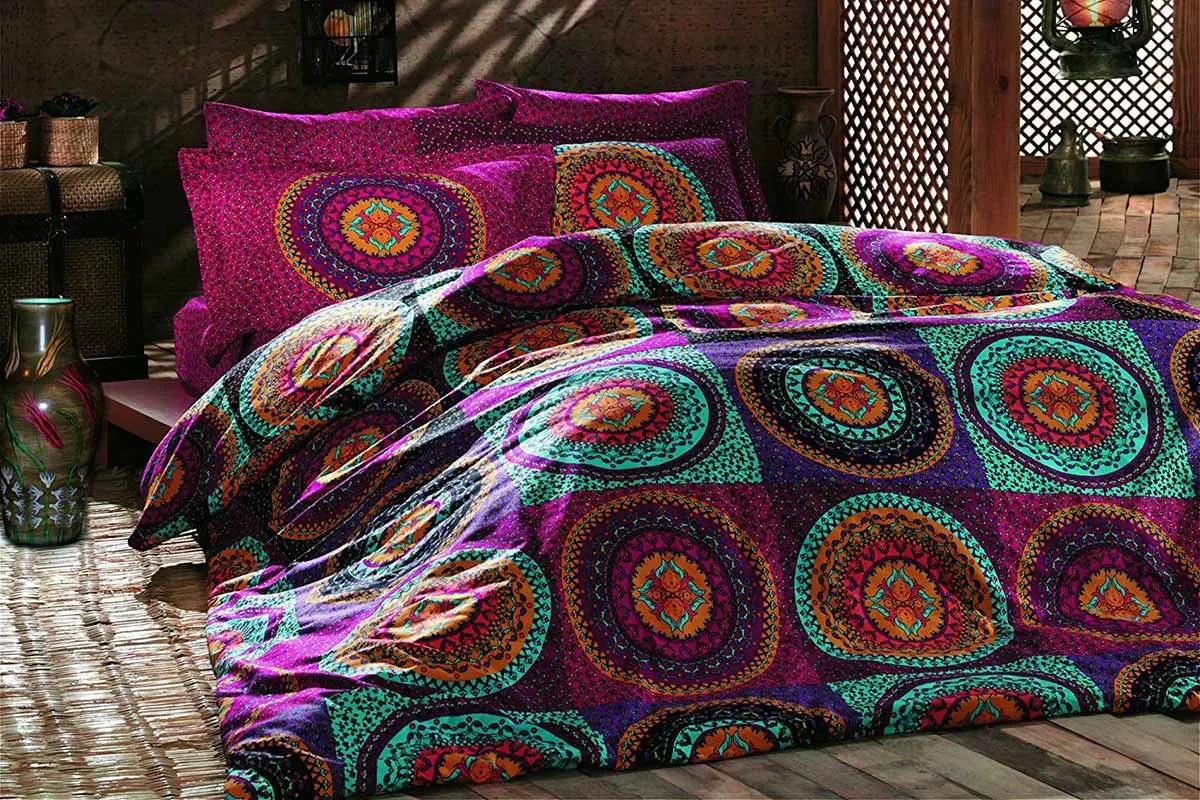 vente privee colourful cotton parures