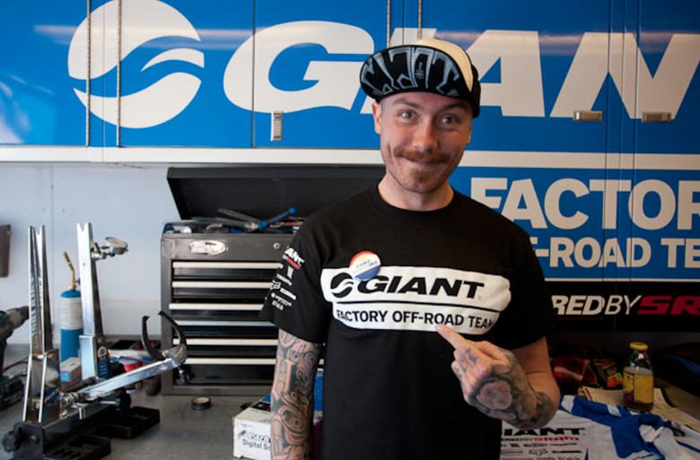 Duncan Riffle, Giant Factory Off-Road Part Ways