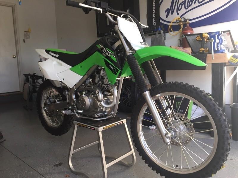 Klx 140l Build