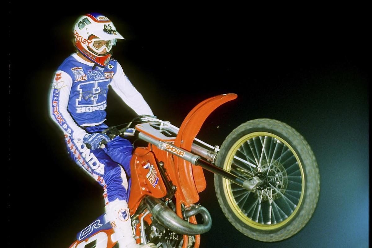 Vintage Fox Racing Rick Johnson Replica Team Honda Gear Set 1986 For Sale Bazaar Motocross