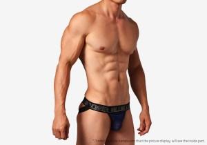 blue leader,半透明,網紗,運動,後空褲,男內褲,translucent,mesh,sports,jockstraps,underwear