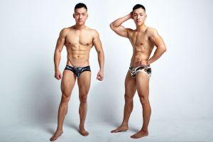 battleground,camouflage,low waist,briefs,underwear