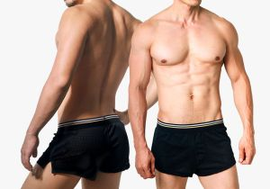 wantku,洞洞,涼感,居家,平口褲,男內褲,hole,breathable,home style,trunks,underwear