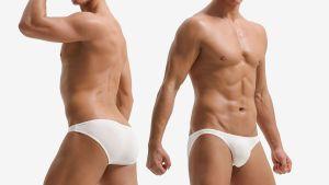 細邊,雙條,低腰,三角褲,男內褲,think side,double line,low waist,briefs,underwear
