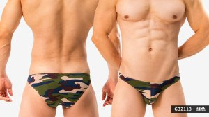 包臀,迷彩,細邊,低腰,三角褲,男內褲,cover hip,camouflage,thin side,low waist,briefs,g3211