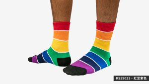 寬,條紋,彩虹,半筒,運動,襪,wide,strips,rainbow,big,strips,socks,sports,ks5902