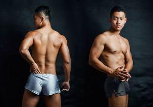 metallic,home-style,waistband,trunks,underwear