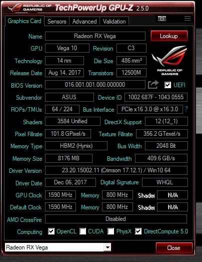 ASUS ROG STRIX RX VEGA 56 顯示卡開箱實測 / 新遊戲 API 性能更強悍 | XFastest News
