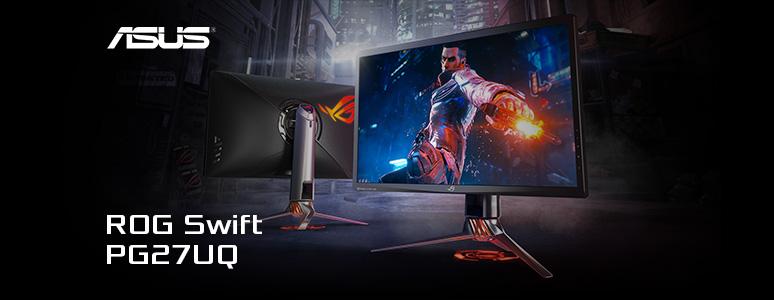 ASUS ROG SWIFT PG27UQ 電競顯示器 / 4K G-Sync HDR 144Hz 多種願望一次滿足 | XFastest News