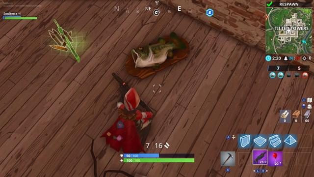 Fortnite Season 6 Week 8 Challenges Dance With Different Fish Trophies Guide