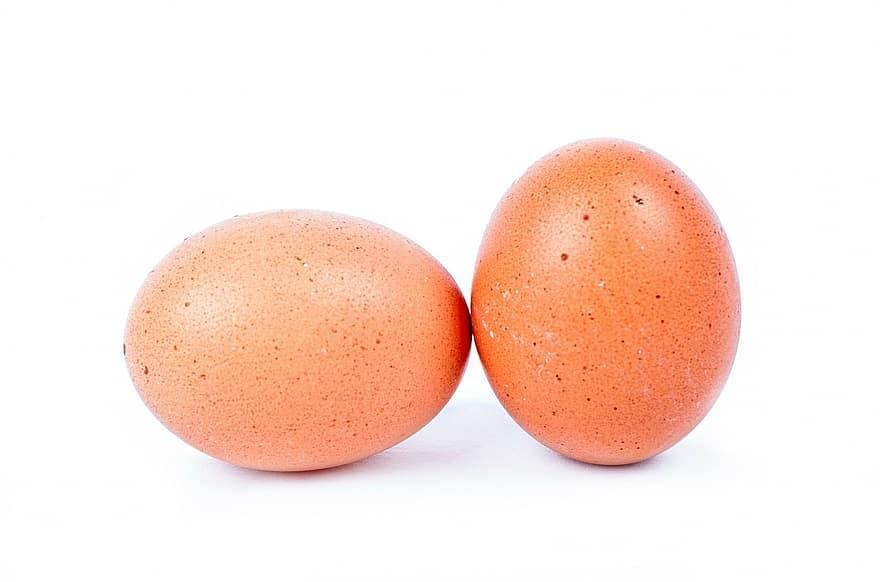 egg, chicken, oval, food, graphy, close-up, isolated, eggshell, nobody, bird, whole
