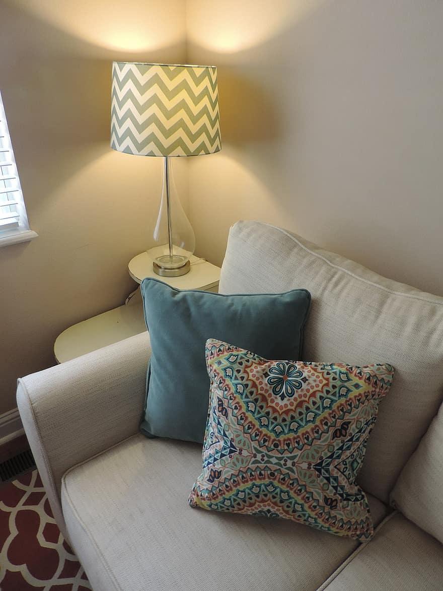 Mobel Sofa Lampe Design Hjem Lejlighed Indre Hyggelig Stue Slap Af Komfortabel Pikist