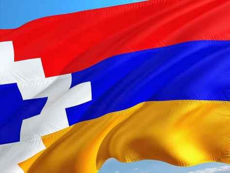 Καύκασος, σημαία, Διεθνές, ναγκόρνο-καραμπάχ, νοτιοανατολικά | Pikist
