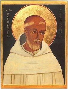 Saint Bernard de Clairvaux - images saintes