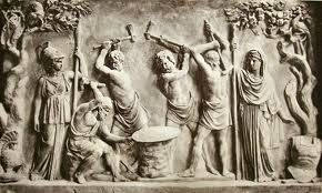 Héphaistos et les Cyclopes forgeant le bouclier d Achille