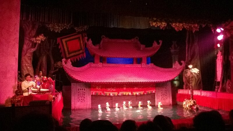 Marionnettes sur l'eau de Thang Long