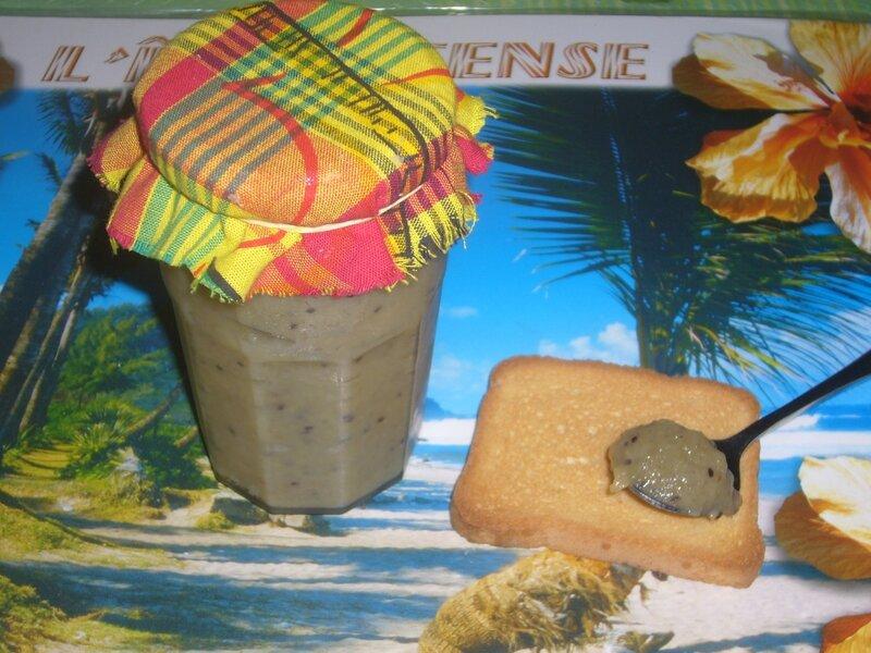 confiture banane kiwi 2