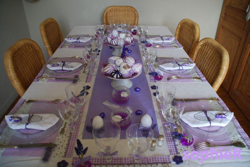 Table De Pques Les Bonheurs De SophieR