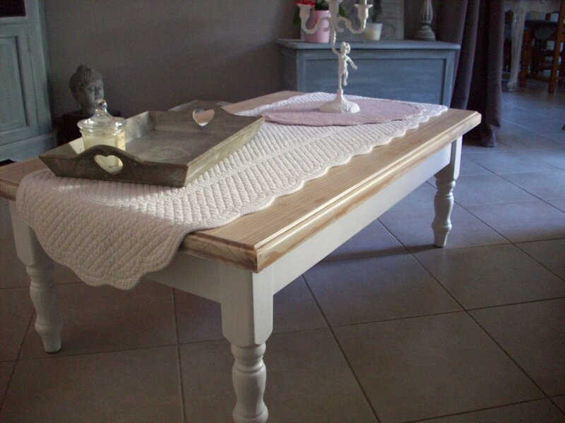 Table Basse Au Boudoir DAntan