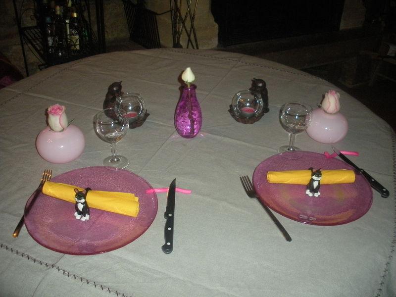 table pour deux cotonnette