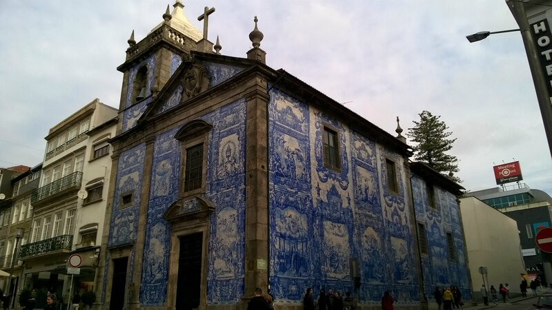 La Capela das Almas, en azulejos