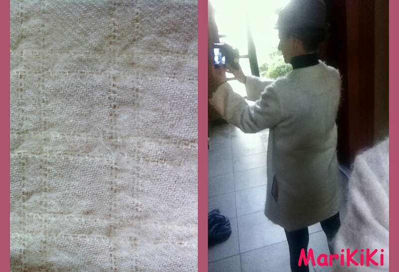 Veste lainage écru 05