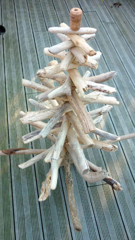 sapin en bois flotte le blog d aventurine