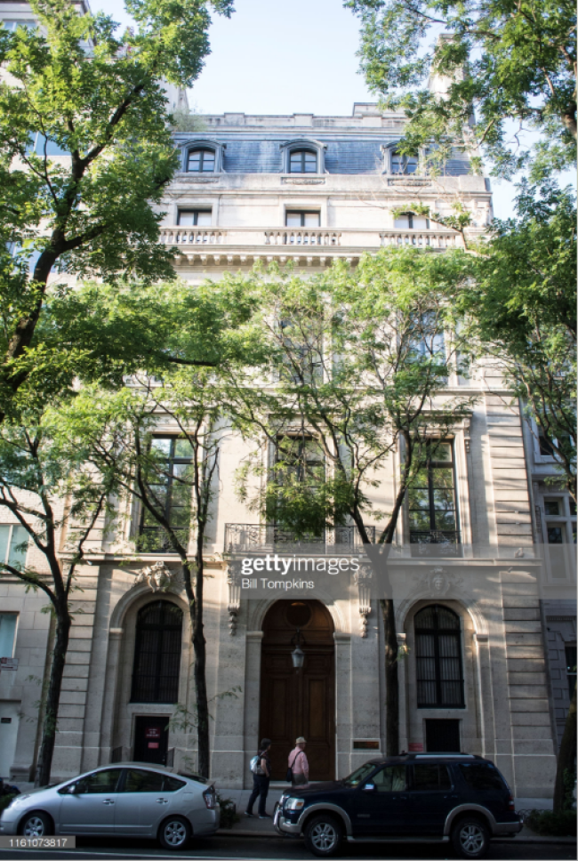 2019-07-30 20_57_02-Bill Tompkins_Getty Images The townhouse where the financier Jeffrey