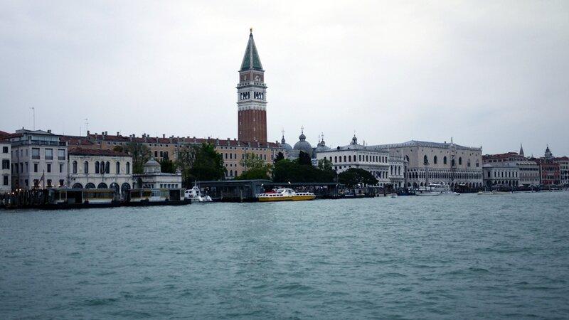 Vue de Venise en revenant de Burano