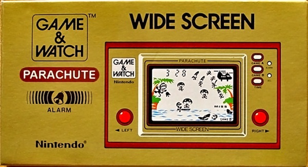 Game and Watch: Parachute