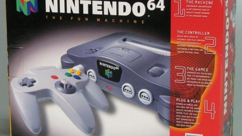 Gaming Anniversaries June 23 Nintendo 64 Super Mario 64 P1 Start