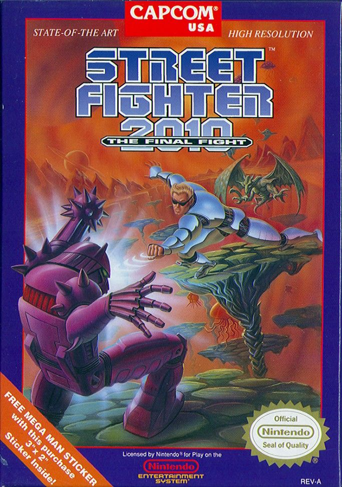 Street Fighter 2010 The Final Fight Today In Gaming Nintendo Famicom