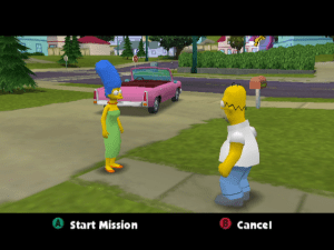 The Simpsons Hit and Run