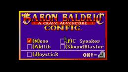 Baron Baldric: A Grave Adventure