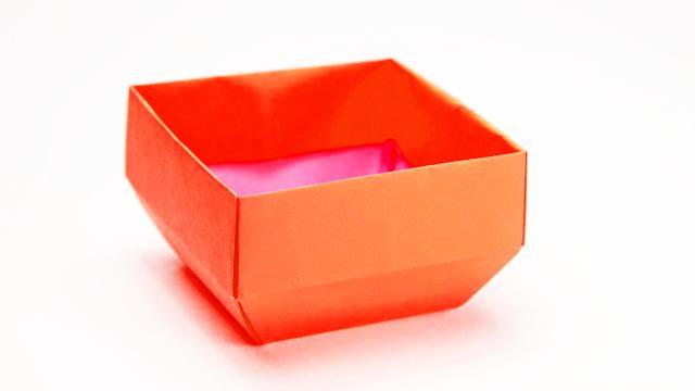 用紙折盒子
