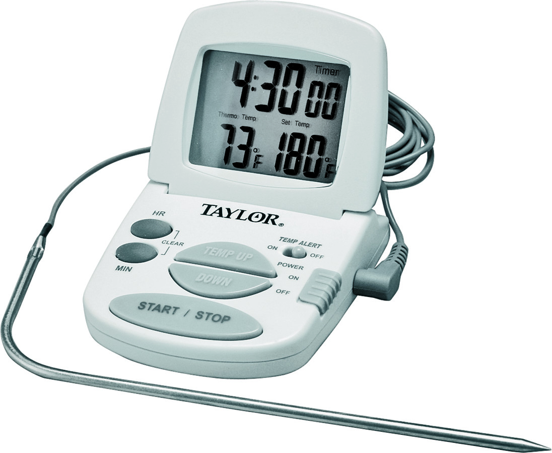 This site contains affiliate links from which we receive a compensation (like amazon for example). Taylor 1470N Classic Series Digital Cooking Thermometer ...